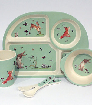 Woodland Tableware Set