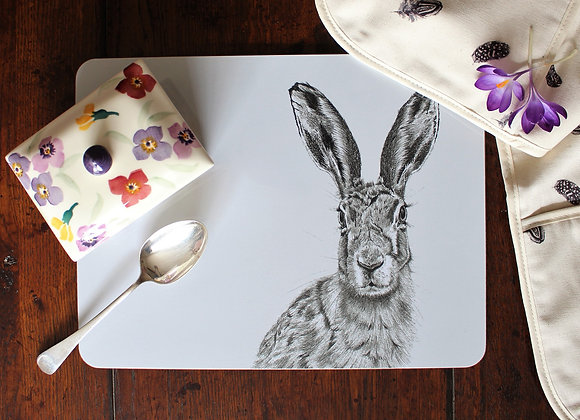 Hare Serving Mat
