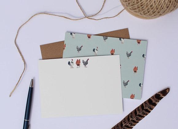 Chicken Notelets