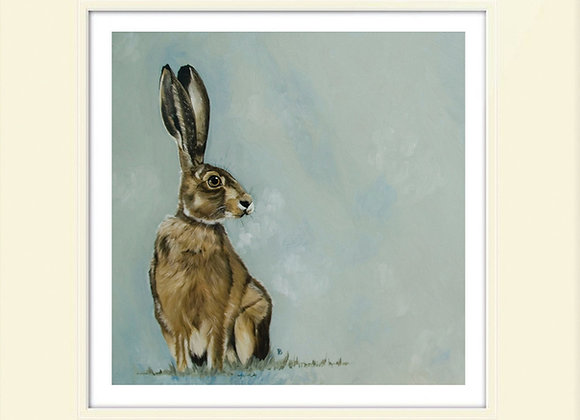 Lonely Brown Hare