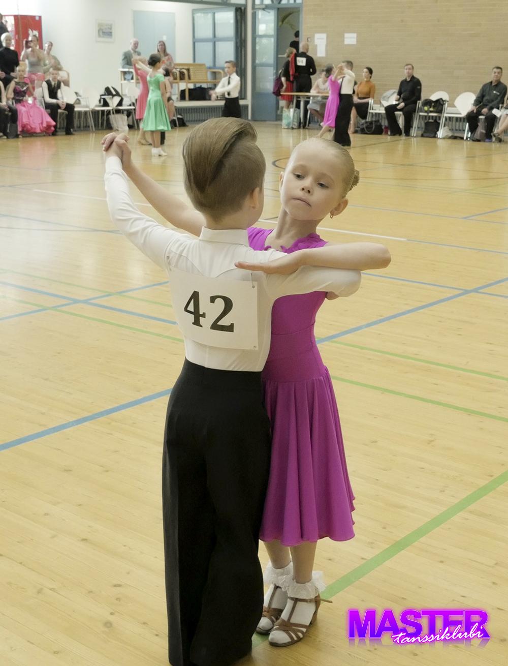 Tanssiklubi Master aluekilpailu