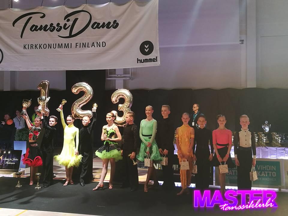 Tanssiklubi Master SM-kilpailuissa