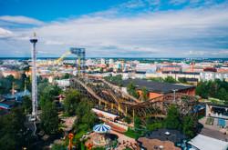 Linnanmäki Rollercoaster