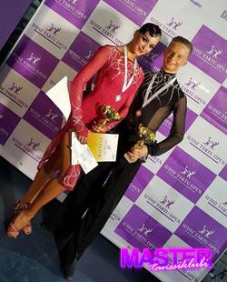 Dima ja Alisa voitokkaina