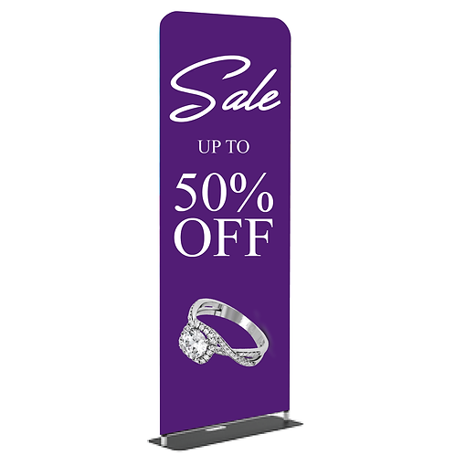 "Tension FABRIC Banner Stand 36"" x 90"""