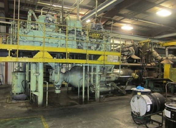 1700 ton Loewy Copper Extrusion press w/piercer