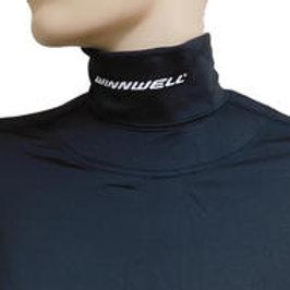 WINNWELL Base Layer Top w/Built-In Neck Guard- Sr