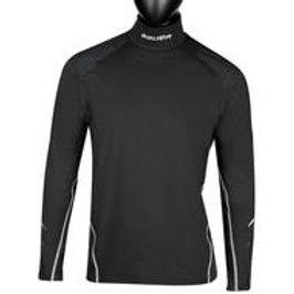 BAUER NG Premium Neck Protect Long Sleeve Top-Sr