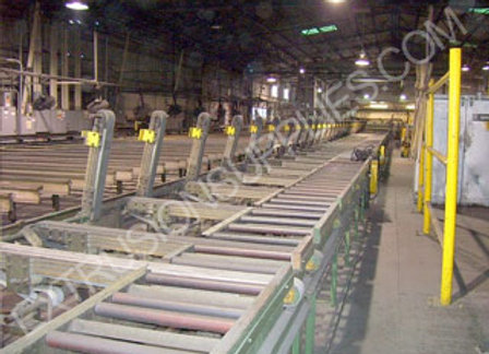 Extrusion Operation for Sale with 1550 ton 6 press and other equipment for sale