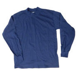 GILDAN L/S Cotton Mock- Sr