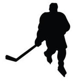 A&R Hockey Player Magnet