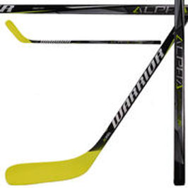 WARRIOR Alpha QX Yellow Hockey Stick- Tyke