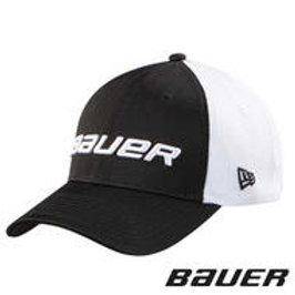 BAUER/NEW ERA 39Thirty Mesh Back Cap- Yth