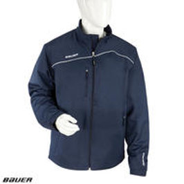 BAUER LightWeight Warm-Up Jacket- Yth