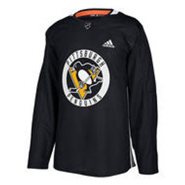 ADIDAS NHL Authentic Pro Pittsburgh Practice Jersey- Sr