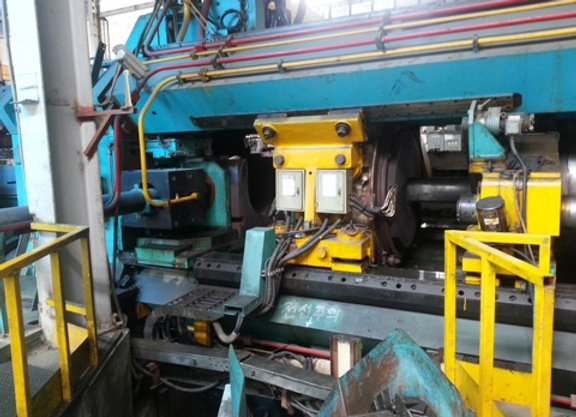 50 MM Taiyan Aluminum Extrusion Press Line