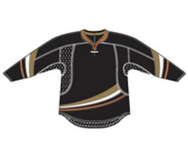Anaheim 25P00 Edge Gamewear Jersey (Uncrested) - Black- Senior