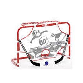 WINNWELL Mini Net W/2Sticks, Ball,Target