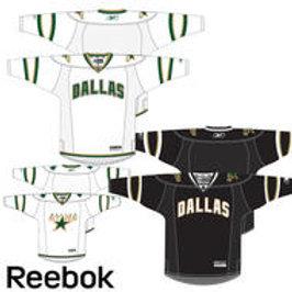 Reebok 7185 Center Ice Premier NHL Team Jersey- Dallas Sr