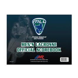 A&R Men's Lacrosse Score Book