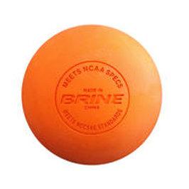 BRINE NOCSAE Loose Orange Lacrosse Balls