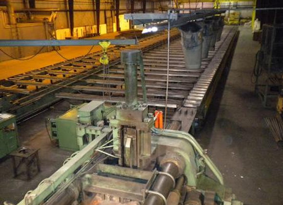 Extrusion Operation For Sale 1800 ton press and coating line