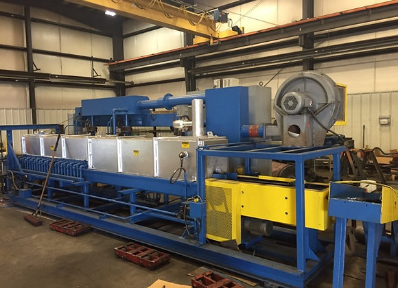 2002 Belco billet oven for small press