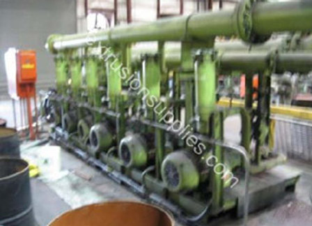 5000 ton Wean United Extrusion Press