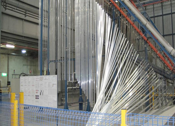 7200mm Vertical Powder Line for sale - (24 max length) New Line, never installed