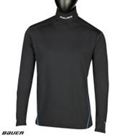BAUER NG Core Neck Protect Long Sleeve Top- Yth