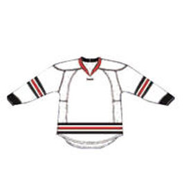 Chicago 25P00 Edge Gamewear Jersey (Uncrested) - White- Senior