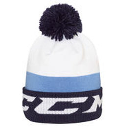 CCM Chromatic Fleece Pom Knit Hat