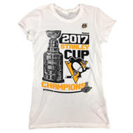 2017 Stanley Cup Locker Room Women's Tee