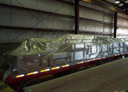 Poly Tarps to protect your extrusions during shipment