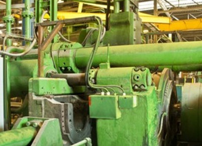 3000 ton Lake Erie Extrusion Press  (right hand)
