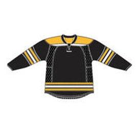 Boston 25P00 Edge Gamewear Jersey (Uncrested) - Black- Senior