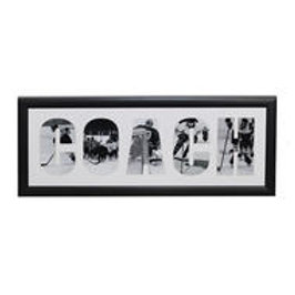 PAINTED PASTIMES Coach Matted Frame