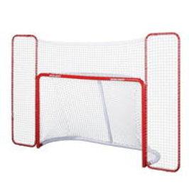BAUER Hockey Goal w/Backstop