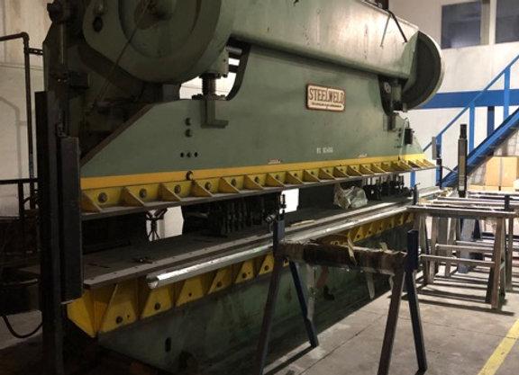 240 ton SteelWeld Brake Press