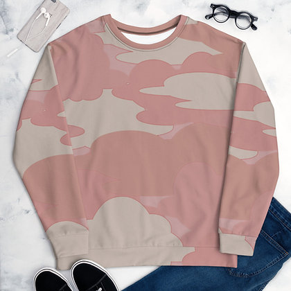 Pink Cloud Unisex Sweatshirt