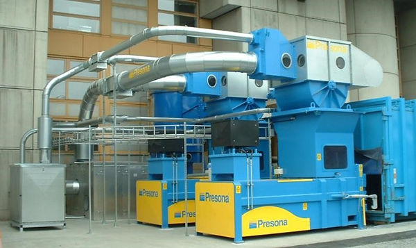 Effecient waste extractrion system by Presona