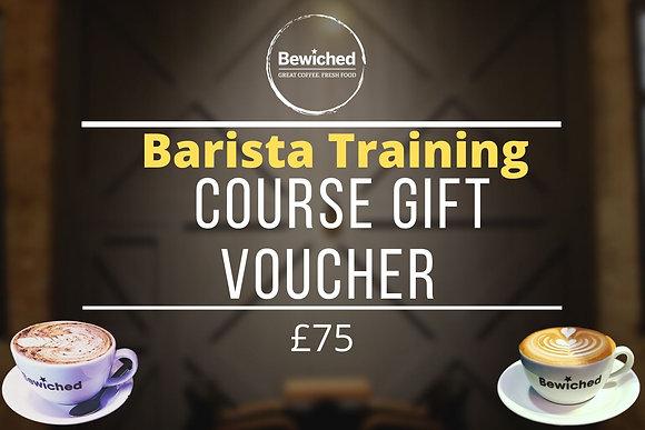 Barista Course Gift Voucher