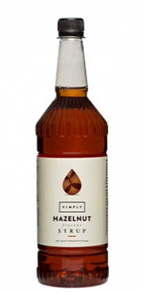 Hazelnut Syrup 1 litre
