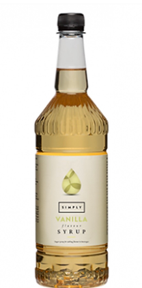 Vanilla Syrup 1 litre