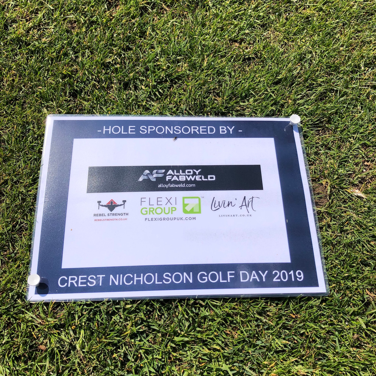 Crest Nicholson sponsored golf hole (2)