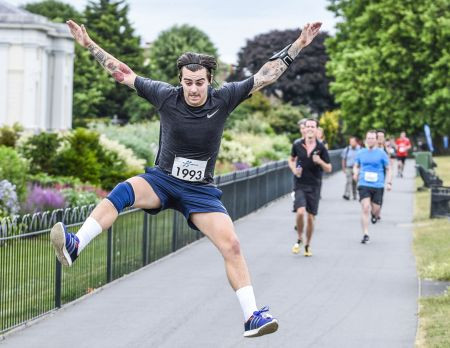 A Royal Parks marathon for seriously ill children...