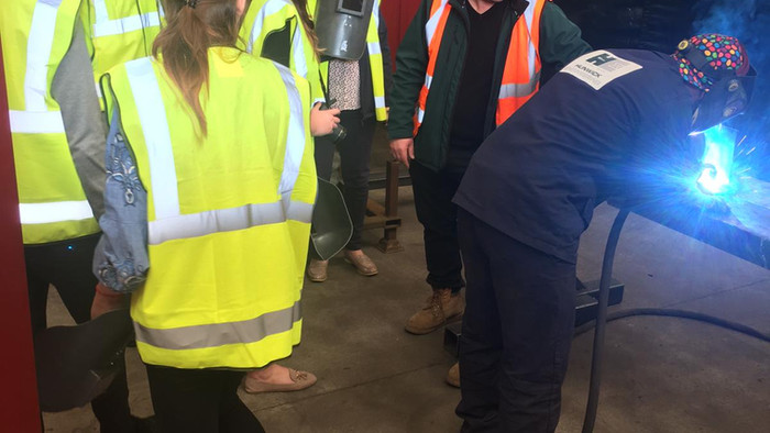Engie visit Alloy Fabweld
