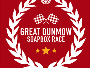 The awesome Great Dunmow Soapbox Race 2019!