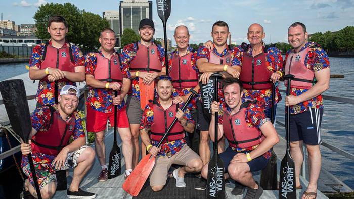 Dragon Boat Racing for Charity!