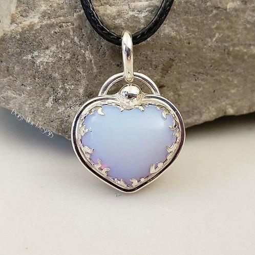 #1140 -Opalite Heart